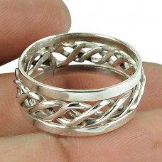 Perfect 925 Sterling Silver Ring Handmade Jewellery
