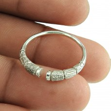 925 Sterling Silver Adjustable Ring Wholesale Price Indian Fashion Silver Jewellery