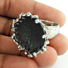 Oxidised 925 Sterling Silver Handmade Fashion Ring