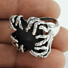 Excellent Oxidised 925 Sterling Silver Designer Ring