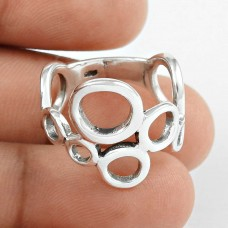 New Exclusive Style!! Handmade 925 Sterling Silver Ring