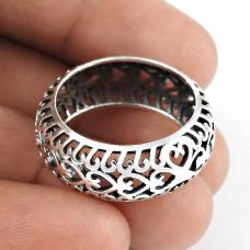 Delicate Light!! Handmade 925 Sterling Silver Ring