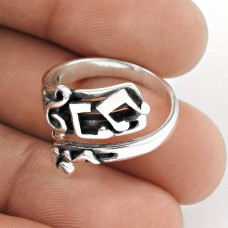 New Design!! Handmade 925 Sterling Silver Ring Manufacturer India