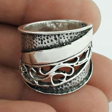 Artisan 925 Sterling Silver Ring Jewellery Fabricante