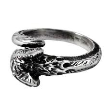 Lovely Dragon Design 925 Sterling Silver Ring Manufacturer