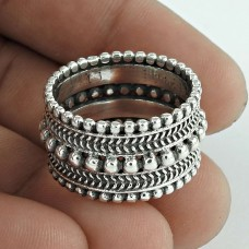 Simple ! 925 Sterling Silver Ring Wholesaler India