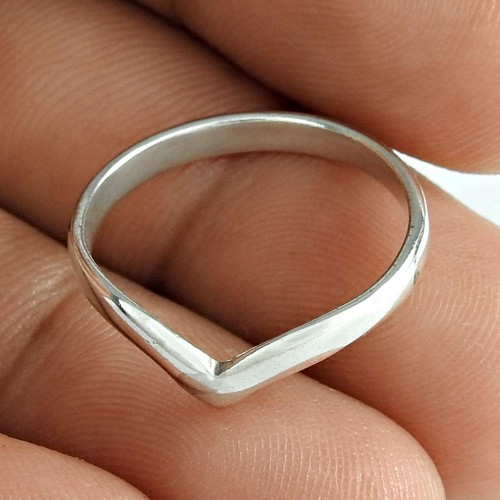 Claptoap Solid 925 Sterling Silver Engagement Ring