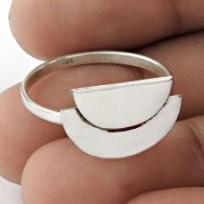 Large Stunning ! 925 Sterling Silver Ring Jewellery Al por mayor