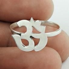 OM Design 925 Sterling Silver Ring Jewellery Hersteller
