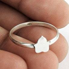 Party Wear !! 925 Sterling Silver Lotus Ring Jewellery