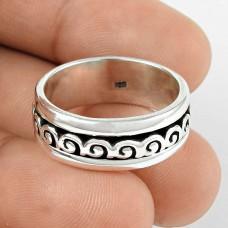Artisan !! Handmade 925 Sterling Silver Ring Jewellery Großhändler