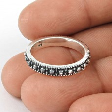 Intrigant Sterling Silver Band Ring Jewellery