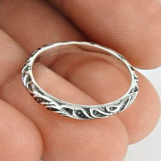 Passionate Love Sterling Silver Band Ring Jewellery