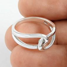 Classy Design Handmade Sterling Silver Ring Jewellery