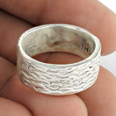 Precious ! Solid 925 Sterling Silver Ring