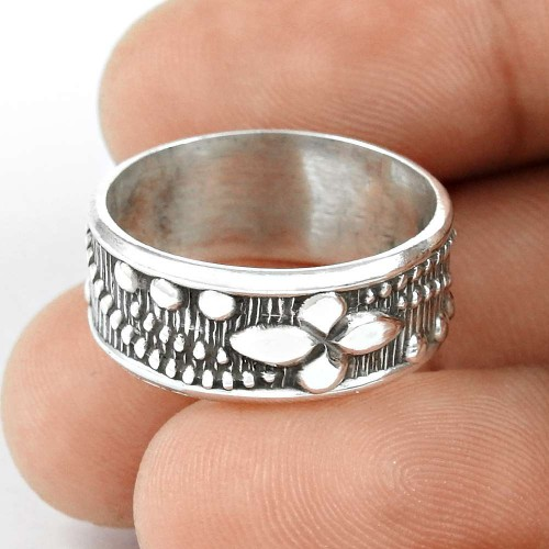 Rattling ! Solid 925 Sterling Silver Ring Mayorista