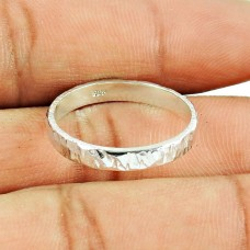 Handmade Indian Sterling Silver Jewellery Beautiful Sterling Silver Ring Exporter India