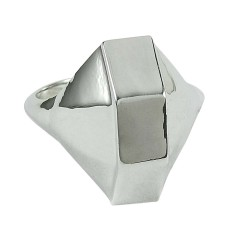 Handmade 925 Silver Jewellery Trendy Sterling Silver Ring Wholesaler India