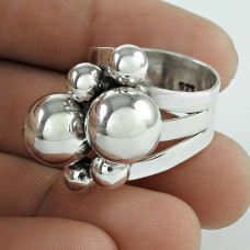 925 Sterling Silver Jewellery Beautiful 925 Silver Ring Manufacturer India