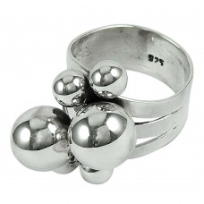 925 Sterling Silver Handmade Jewellery Daily Wear Sterling Silver Ring Manufacturer