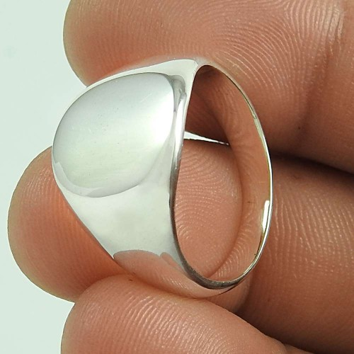 Stunning 925 Sterling Silver Handmade Ring Jewellery