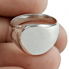 Ring Solid 925 Sterling Silver Traditional Jewelry Supplier