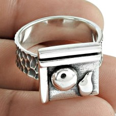 Ring Solid 925 Sterling Silver Stylish Jewelry