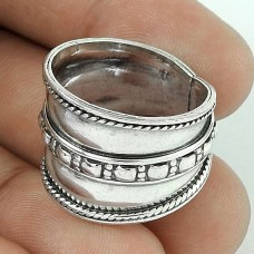 Pleasing 925 Sterling Silver Women Fashion Ring Jewelry