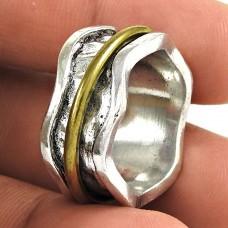 2018 New Design 925 Sterling Silver Spinner Ring