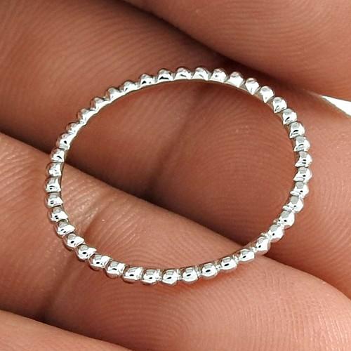 Gorgeous Design 925 Sterling Silver Handmade Ring