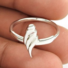 Women Fashion 925 Sterling Silver Shell Ring