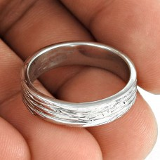Slylish 925 Sterling Silver Handmade Band