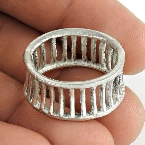 Handmade 925 Sterling Silver Ring Unique Jewelry