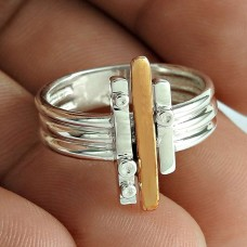 Women Fashion 925 Sterling Silver Geological Handmade Ring