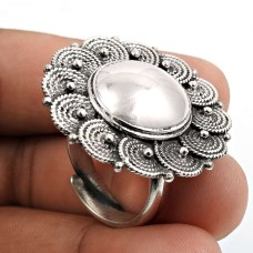 Solid 925 Sterling Silver Ring Stylish Jewelry O76
