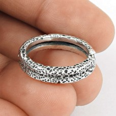 Stylish!! 925 Silver Ring