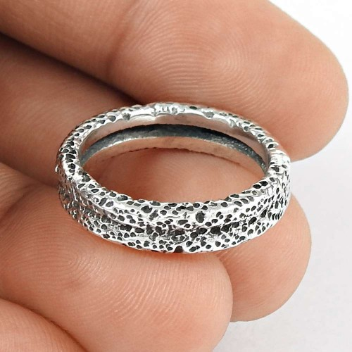 Stylish!! 925 Silver Ring