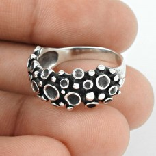 Oxidised 925 Sterling Silver Ring