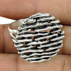 Perfect 925 Sterling Silver Traditional Filigree Ring
