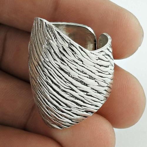 Sightly 925 Sterling Silver Ring Designer Handmade Jewellery