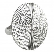 Huge Modern Style! 925 Silver Ring
