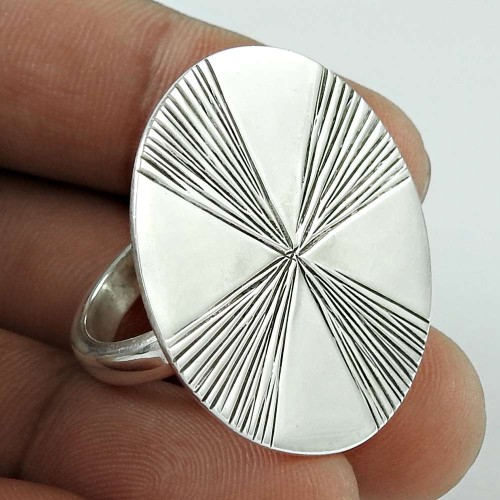 Modern Style! 925 Silver Ring Grossiste