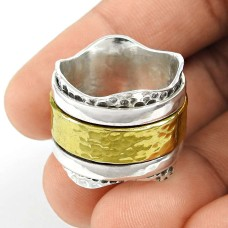 Engaging Gold Plated 925 Sterling Silver Fashion Ring