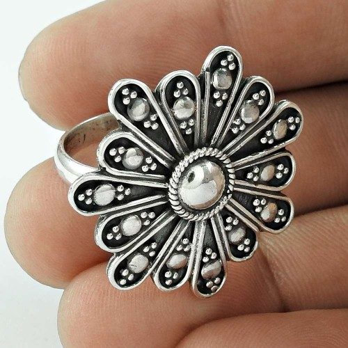 New Faceted! 925 Silver Ring Fabricant