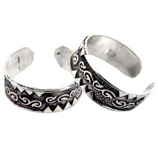 Spectacular Design !! 925 Sterling Silver Toe Rings