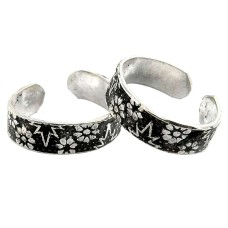 Fashion Design !! 925 Sterling Silver Toe Rings