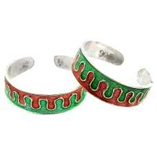 Maya Freedom !! 925 Sterling Silver Toe Rings