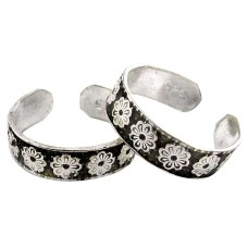 Fantastic Quality Of !! 925 Sterling Silver Toe Rings