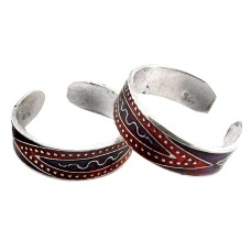 Fine !! 925 Sterling Silver Toe Rings