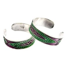 Royal Style !! 925 Sterling Silver Toe Rings